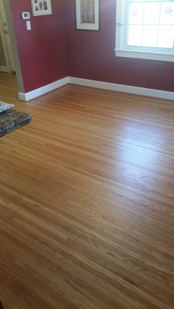 Refinishing Floor After